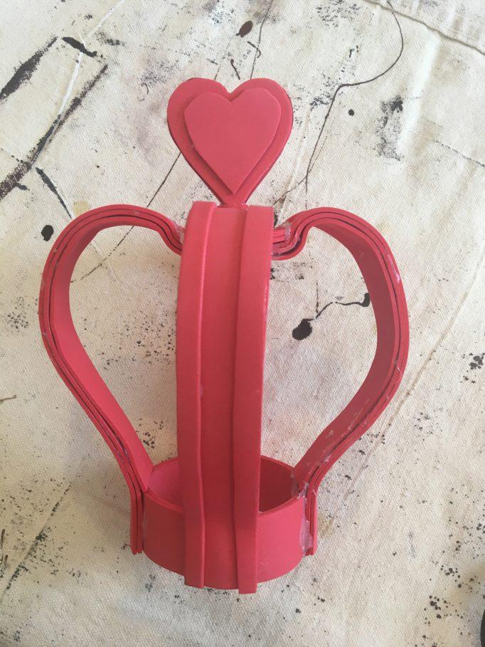 Queen of Hearts Crown DIY Step 8-2