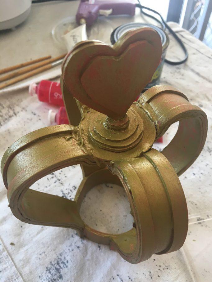 Queen of Hearts Crown DIY Step 9-2