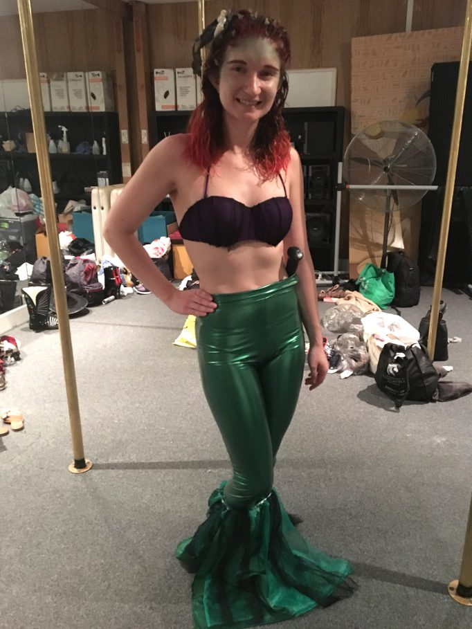 Creepy Ariel Little Mermaid Costume DIY