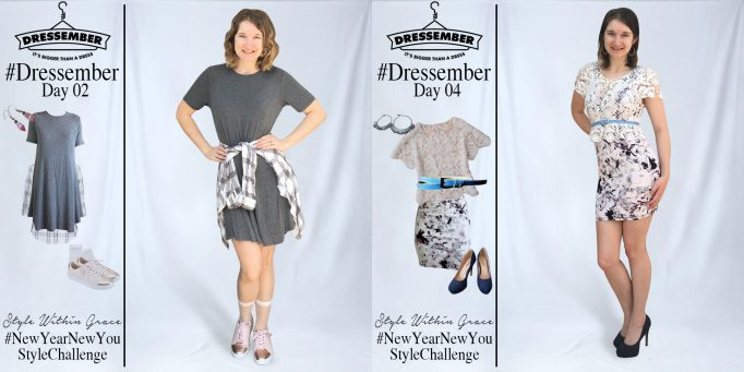 Dressember Outfit Ideas Week 1