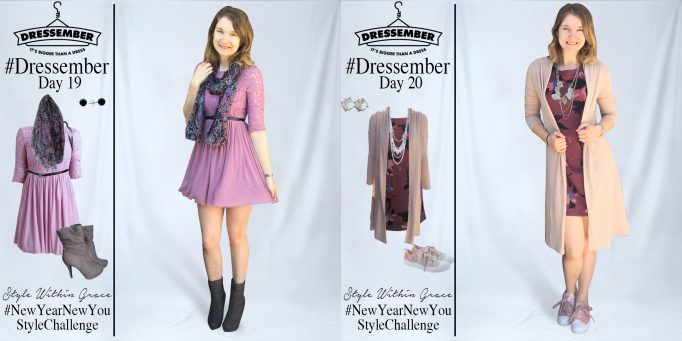 Dressember Outfit Ideas Week 3