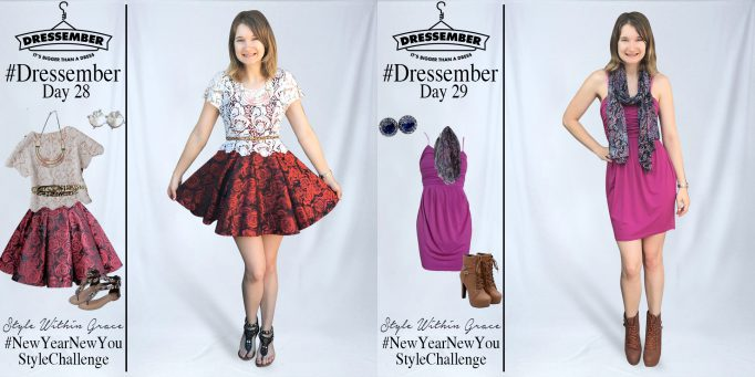 Dressember Outfit Ideas Week 4