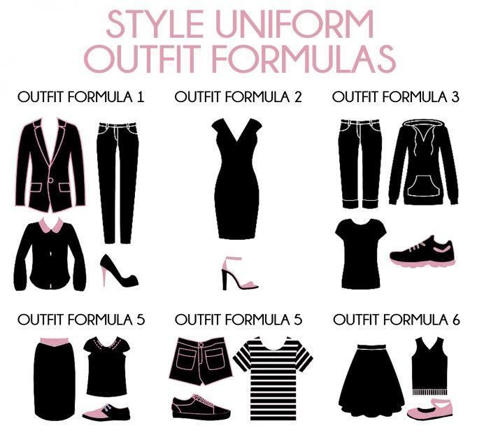 Style Uniform Outfit Formulas
