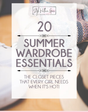 Summer Wardrobe Essentials Feature Image