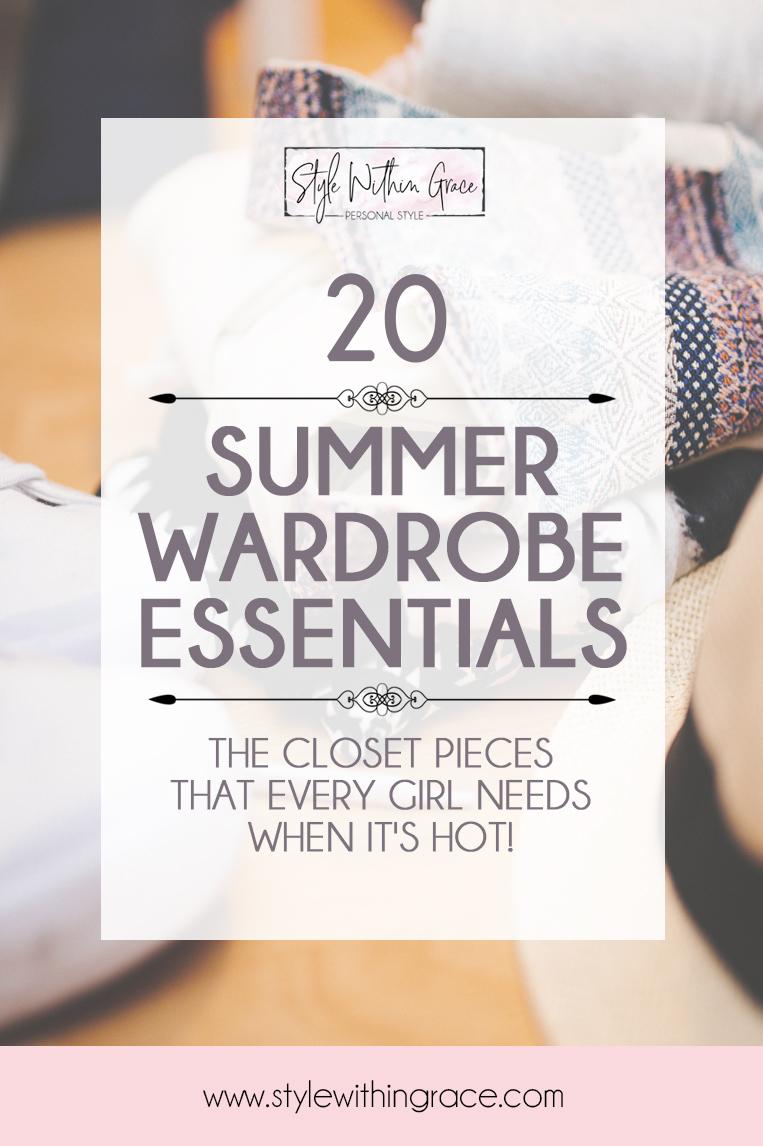 Summer Wardrobe Essentials Feature Image