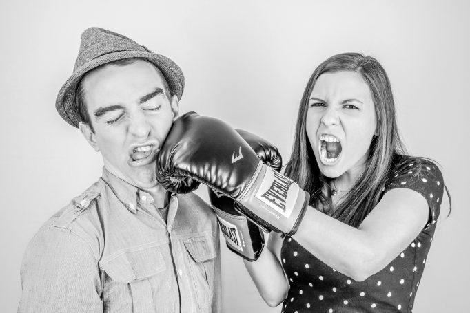 Unbearable Feelings - Couple Fighting