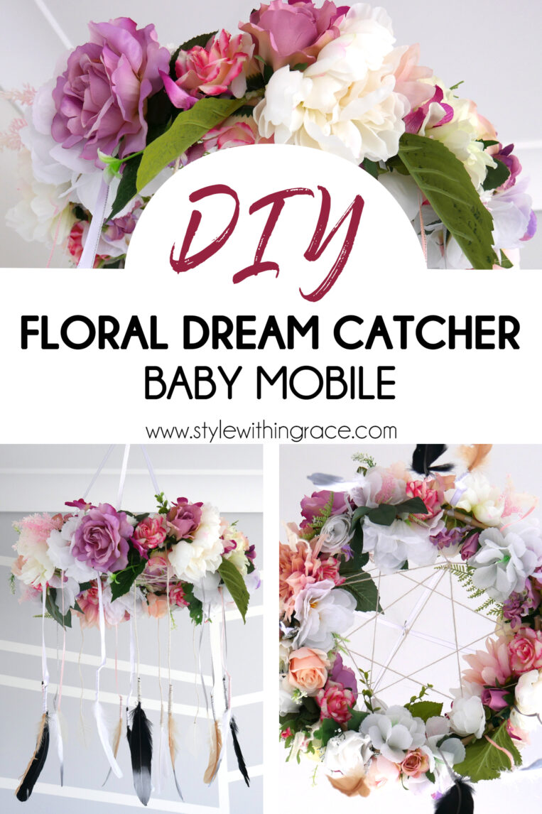 DIY: Floral Dream Catcher Baby Mobile