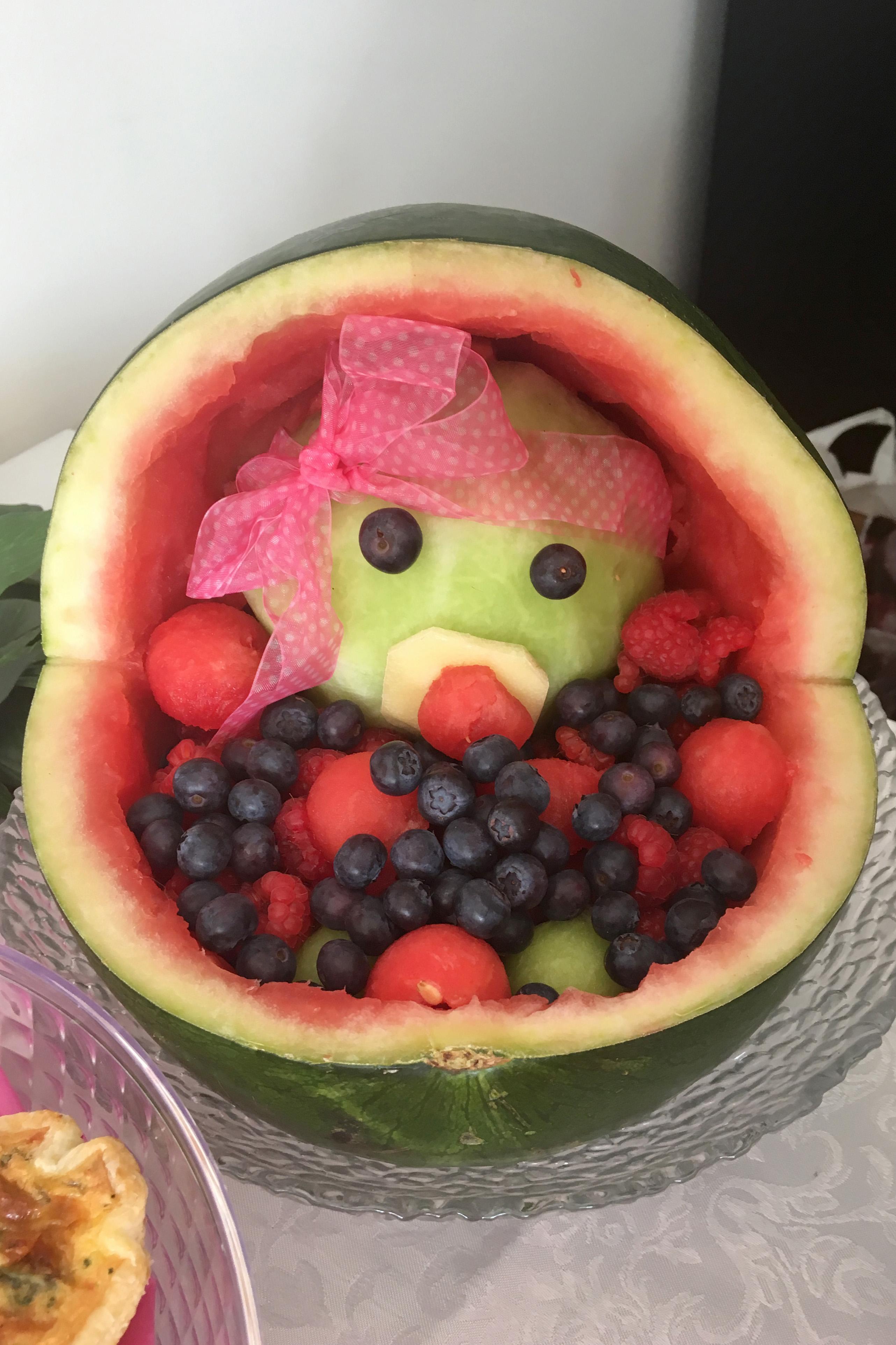 Watermelon Baby Stroller Fruit Bowl