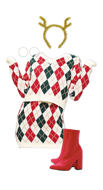 Christmas Outfits - Christmas Day A Lot of Christmas Spirit