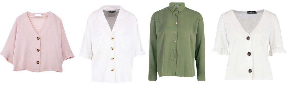 Postpartum Wardrobe Essentials - Button Up Shirts