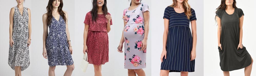 Postpartum Wardrobe Essentials - Nursing Dresses
