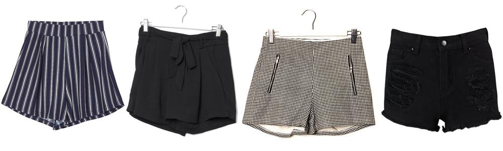 Postpartum Wardrobe Essentials - Shorts