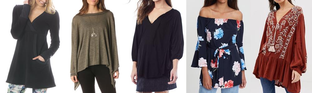 Postpartum Wardrobe Essentials - Tunic Tops