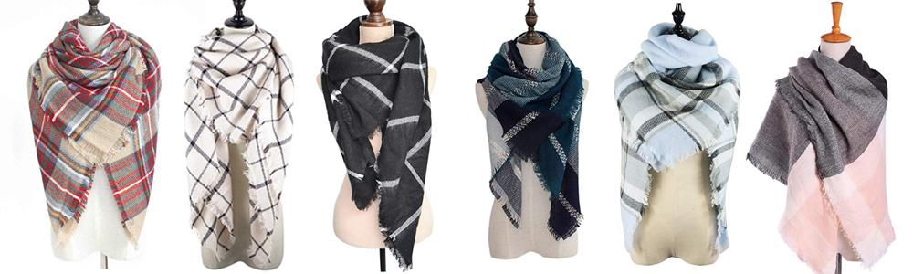 Fall Wardrobe Essentials - Blanket Scarf
