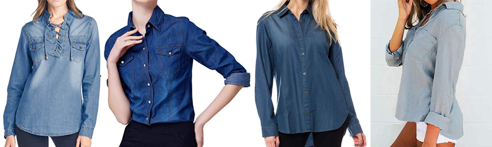 Fall Wardrobe Essentials - Chambray Shirts