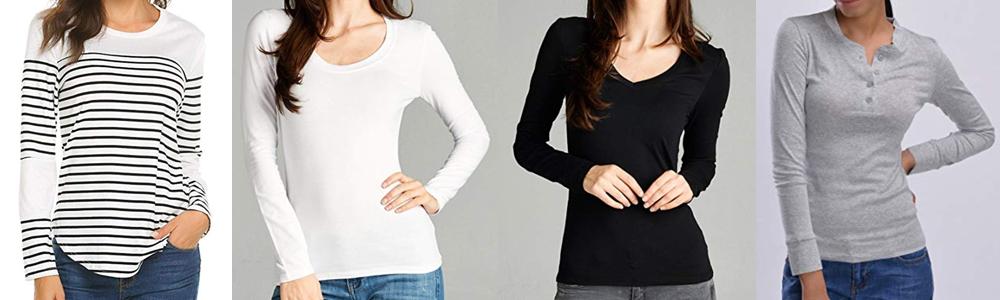 Fall Wardrobe Essentials - Long Sleeve Tees