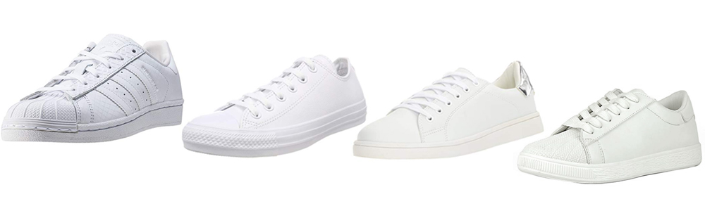 Fall Wardrobe Essentials - White Sneakers