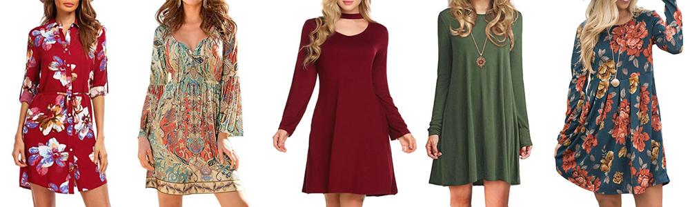 Fall Wardrobe Essentials - Long Sleeve Dress