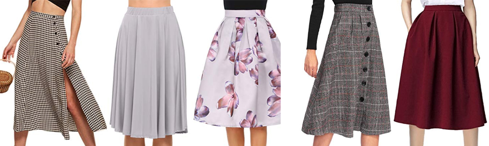 Fall Wardrobe Essentials - Midi Skirt
