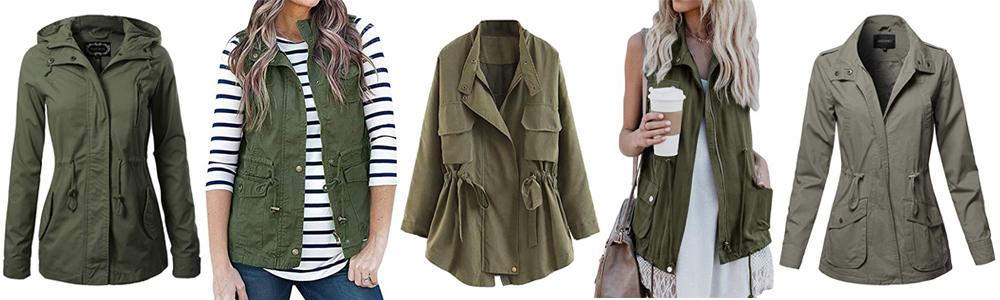 Fall Wardrobe Essentials - Military Jacket Vest