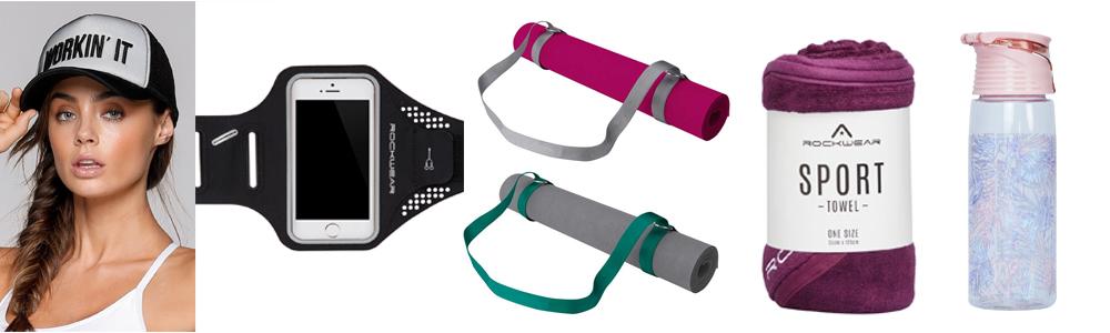 Workout Wardrobe Essentials - Accessories