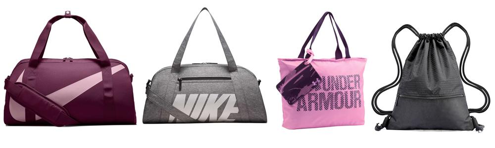 Workout Wardrobe Essentials - Gym bags