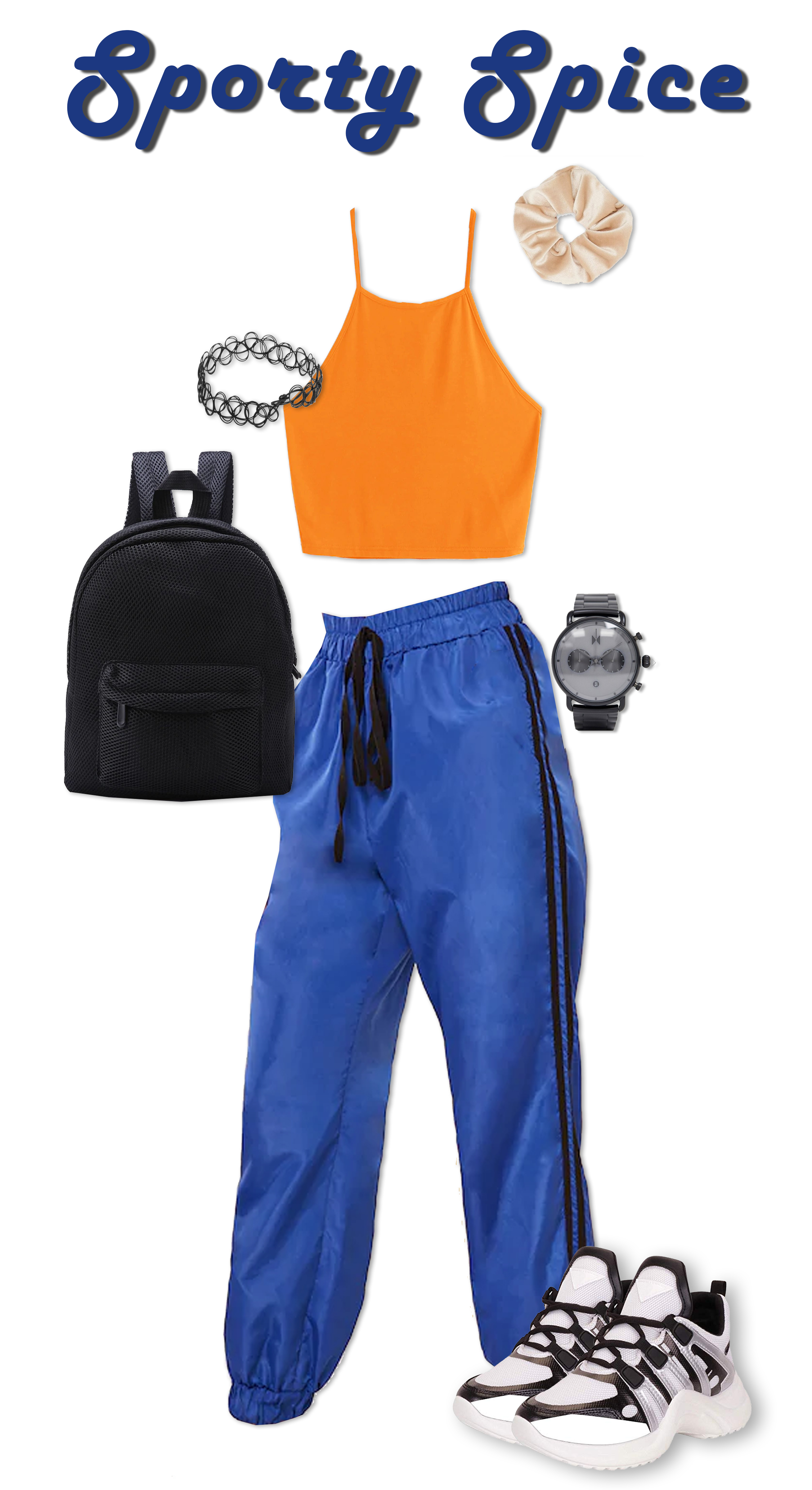 Sporty Spice Outfit