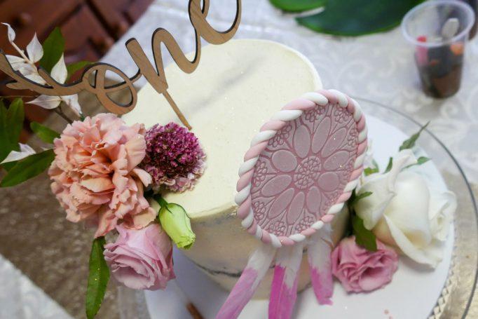 Wild One Dreamcatcher Birthday Cake