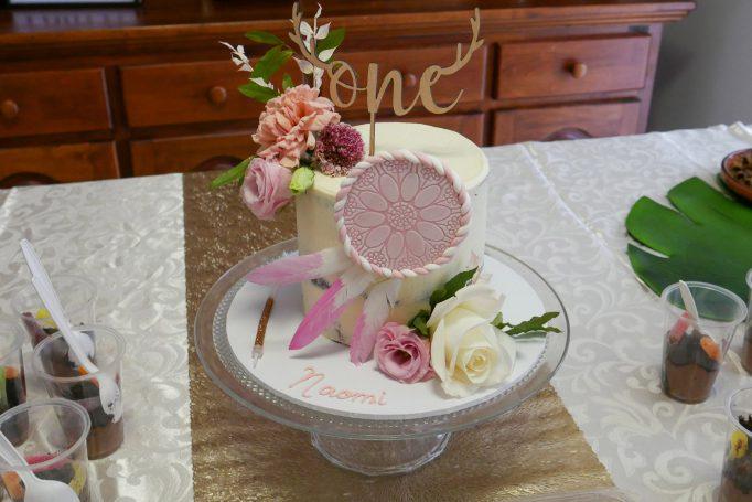 Wild One Boho Birthday Cake