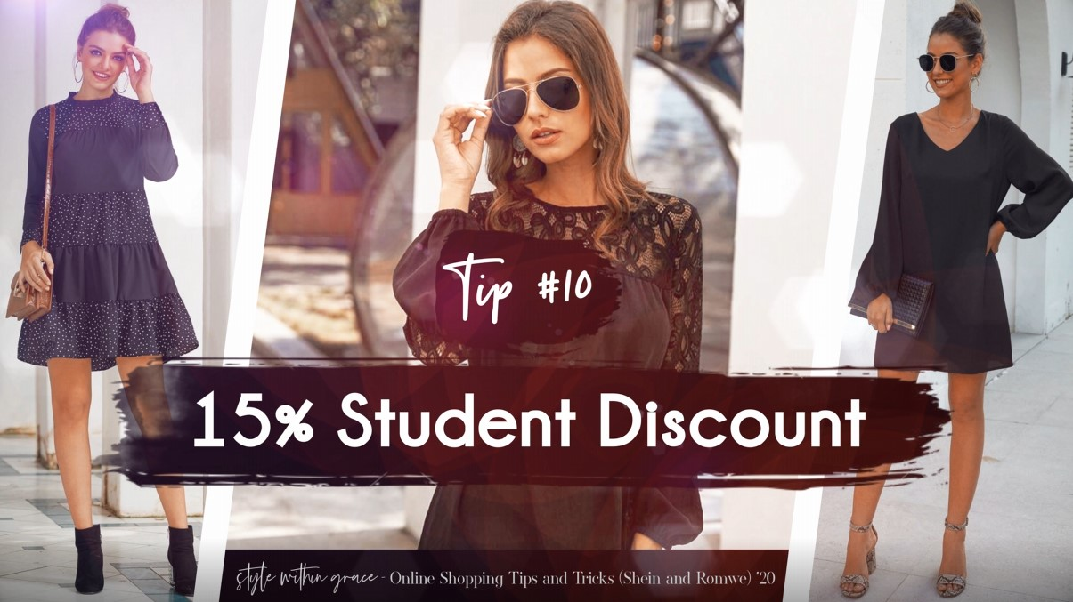 Online Shopping Tips and Tricks #10 - Student Discount
