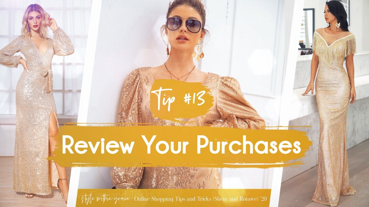 Online Shopping Tips and Tricks #13 - Review Your Purchases