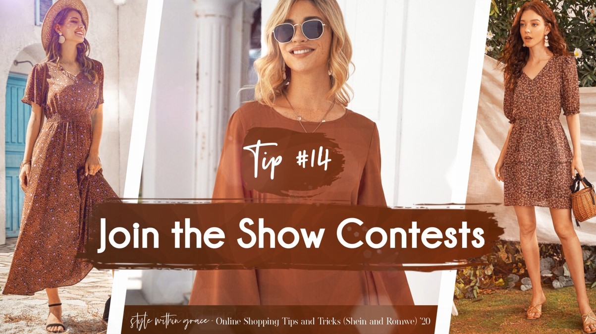 Online Shopping Tips and Tricks #14 -Join The Show Contests