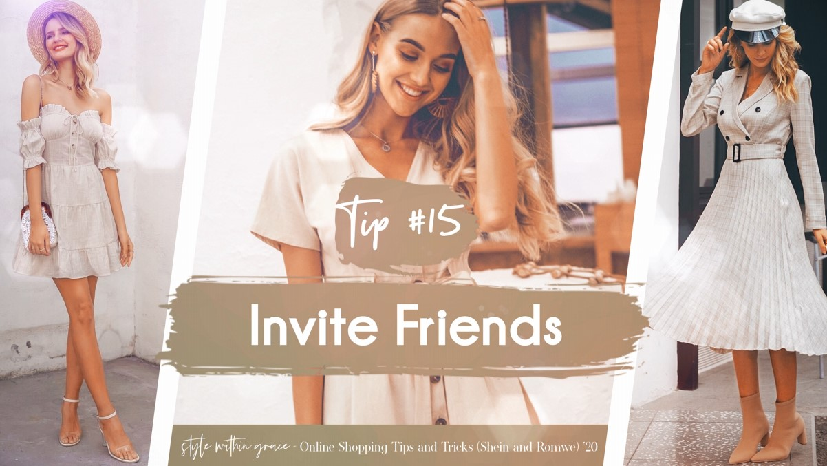 Online Shopping Tips and Tricks #15 - Invite Friends