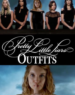 Wearing Pretty Little Liars Outfits for a Week Pinterest Graphic
