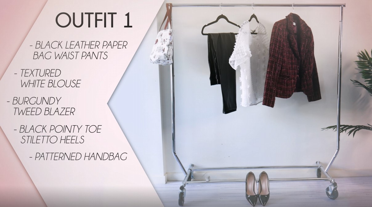 Leather Pants Outfit Formula 01