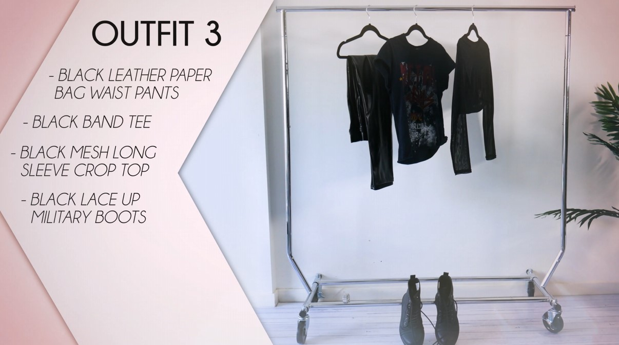 Leather Pants Outfit Formula 03