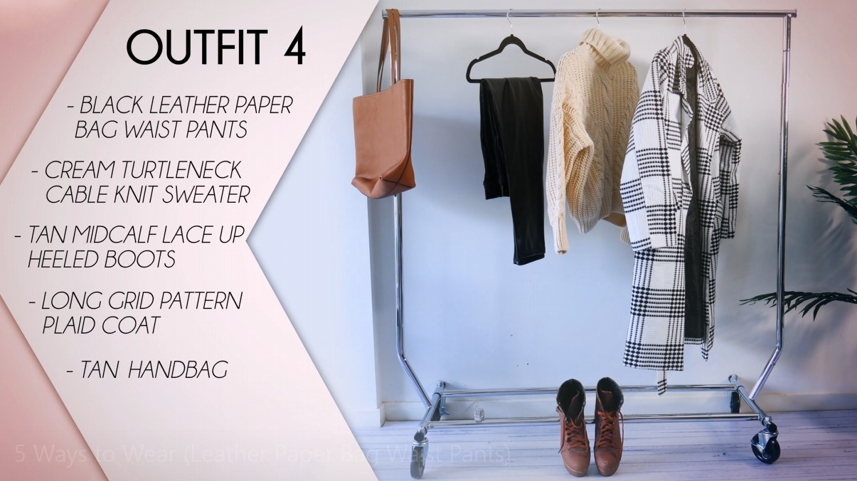 Leather Pants Outfit Formula 04