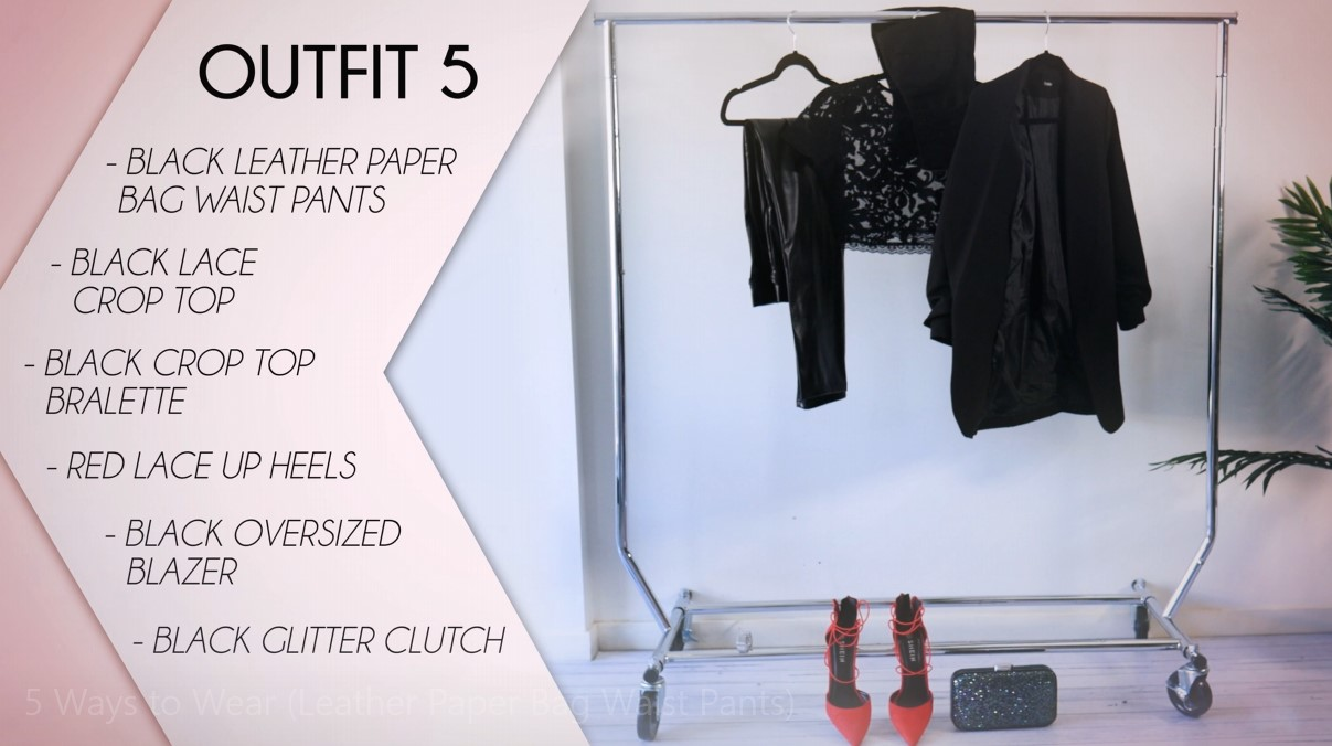 Leather Pants Outfit Formula 05